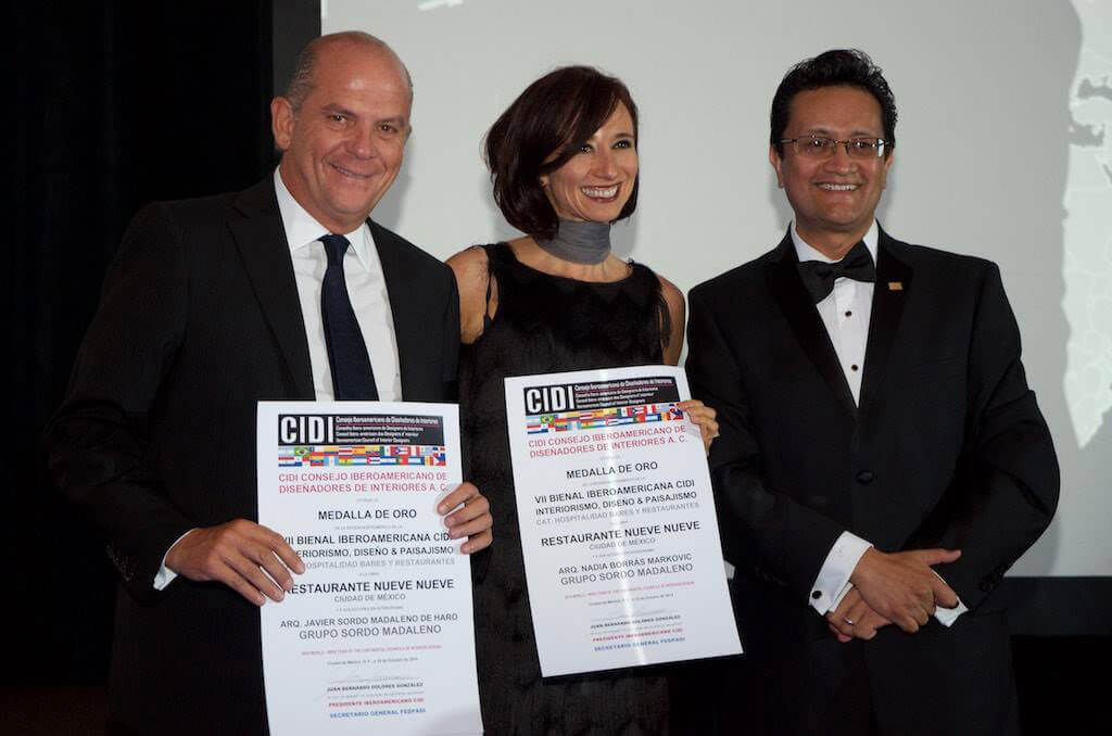 Nueve Nueve Restaurant and 21 CRITs win awards from the CIDI