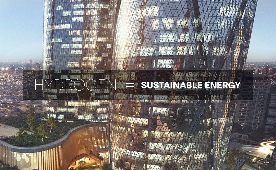 New uses for hydrogen: alternative energy for sustainable architecture