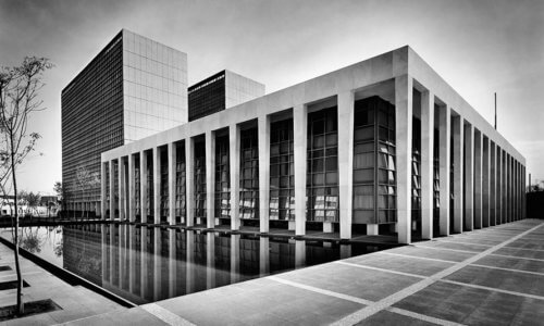 Palacio de Justicia: Modern public architecture that transcends the history of Mexico