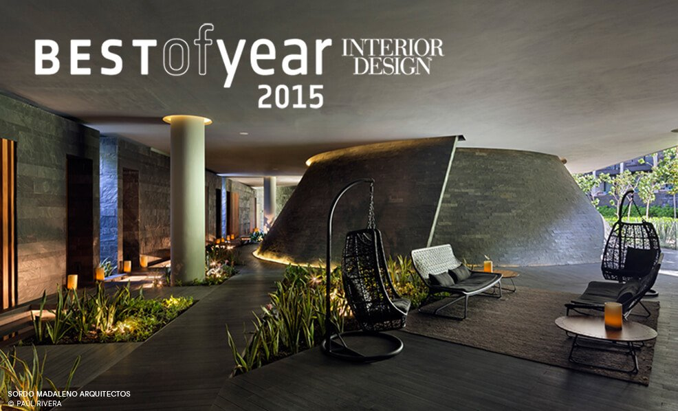 """Best of the Year"" award winner by Interior Design Magaziine"