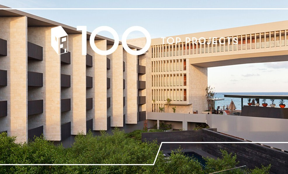 Grand Hyatt Playa del Carmen dentro de los Top 100 PROJECTS