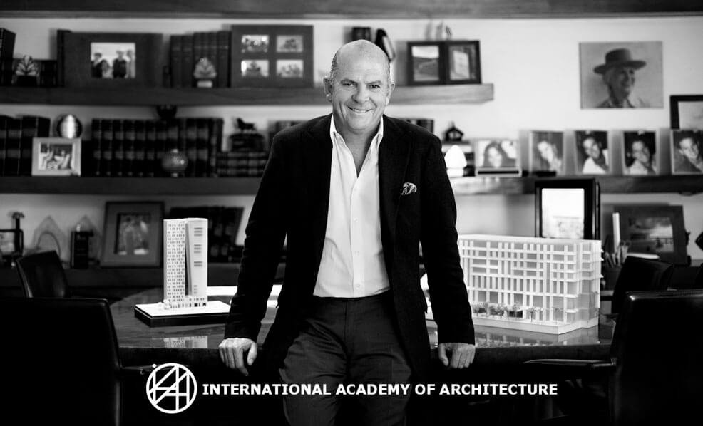 Javier Sordo Madaleno Bringas joins the International Academy of Architecture