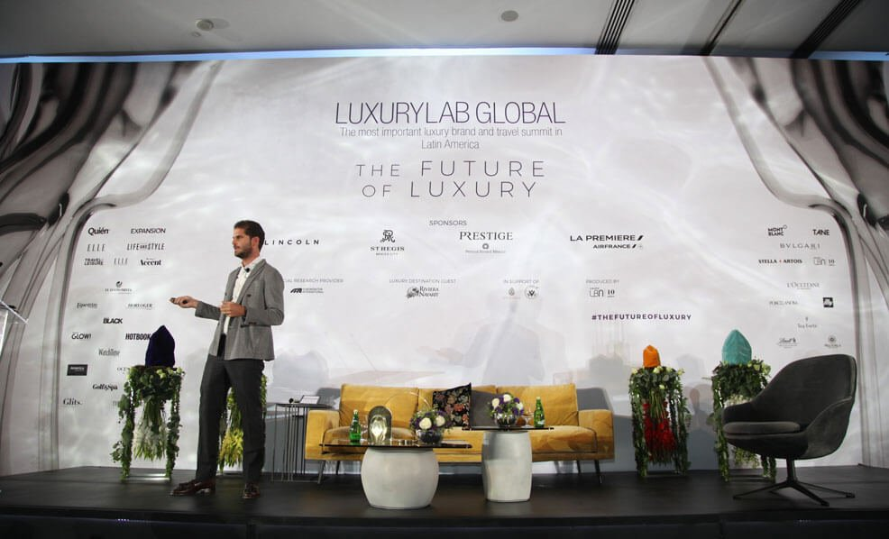 Javier Sordo Madaleno de Haro receives LuxuryLab Award 2018