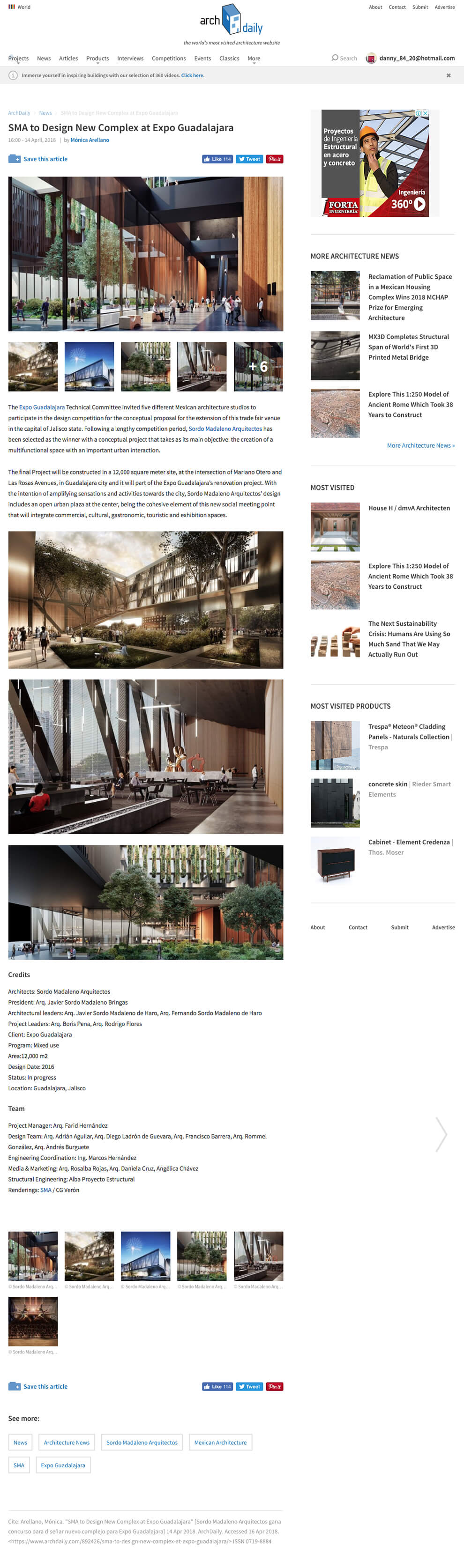 ArchDaily World