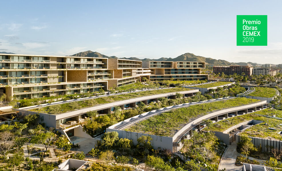 Solaz Los Cabos wins Double Recognition at the CEMEX Building Awards 2019