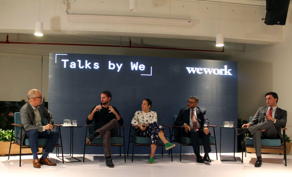 Javier Sordo Madaleno participates in Talks by We