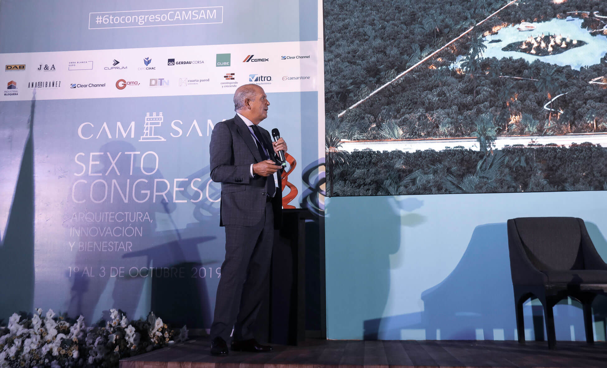 Javier Sordo Madaleno Bringas presents keynote at 6th CAM-SAM Congress