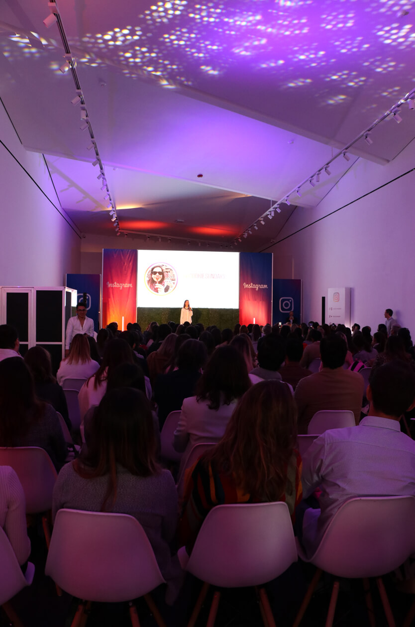 First official Instagram Mexico event held at Artz Pedregal